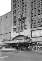 0408115 © Granger - Historical Picture ArchiveBROOKLYN: FOX THEATRE.   The Fox Theatre at Flatbush Avenue and Nevins Street in Brooklyn, New York. Photograph, 1941.