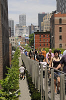 0410204 © Granger - Historical Picture ArchiveHIGH LINE, 2011.   Park built on a section of the former New York Central Railroad tracks running along the west side of Manhattan. Photograph, 2011. Full Credit: Hohlfeld / Ullstein Bild / Granger, NYC -- All rights reserved.