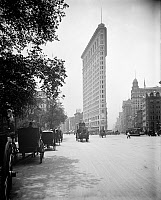 0526084 © Granger - Historical Picture ArchiveNYC: FLATIRON BUILDING, c1902.   The Flatiron Building in New York City. Photograph, c1902.
