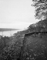 0621254 © Granger - Historical Picture ArchiveNEW YORK: FORT TRYON PARK, 2012. A view of the Hudson River from Fort Tryon Park in New York City, New York. Photograph by Renee Bieretz, 2012.