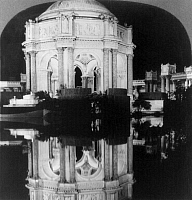 0127325 © Granger - Historical Picture ArchivePANAMA-PACIFIC EXPOSITION.   The Palace of Fine Arts and Lagoon at the Panama Pacific International Exposition in San Francisco, California. Stereograph, 1915.