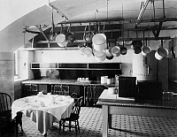 0031558 © Granger - Historical Picture ArchiveWHITE HOUSE KITCHEN, 1901.   The kitchen of the White House. Photographed in 1901.
