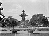 0176225 © Granger - Historical Picture ArchiveD.C.: BARTHOLDI FOUNTAIN.   The Bartholdi Fountain in the United States Botanic Garden in Washington D.C. Photograph, c1917.