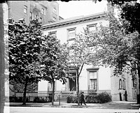 0176226 © Granger - Historical Picture ArchiveD.C.: BLAIR HOUSE, c1920.   Blair House, the guest house of the President of the United States on Pennsylvania Avenue in Washington, D.C. Photograph, c1920.