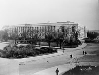 0176267 © Granger - Historical Picture ArchiveHOUSE OF REPRESENTATIVES.   The Cannon House of Representatives Office Building in Washington, D.C. Photographed from the grounds of the Capitol building, by Waldon Fawcett, c1908.