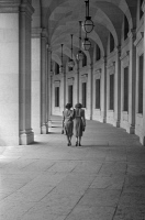 0527541 © Granger - Historical Picture ArchiveWASHINGTON, D.C., 1939.   The waywalk leading from the Old Post Office in Washington, D.C. Photograph, 1939.