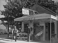 0132102 © Granger - Historical Picture ArchiveFLORIDA: BAIT SHOP, 1938.   Bait shop in Key West, Florida. Photograph by Arthur Rothstein, 1938.