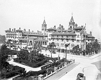 0259849 © Granger - Historical Picture ArchivePONCE DE LEÓN HOTEL, c1900.   The Ponce De Leon Hotel in St. Augustine, Florida. Photograph, c1900.
