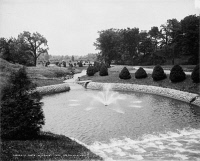 0351470 © Granger - Historical Picture ArchiveMASSACHUSETTS: SPRINGFIELD.   Forest Park in Springfield, Massachusetts. Photograph, c1905.