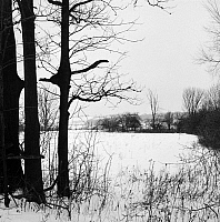 0044738 © Granger - Historical Picture ArchiveWINTER: FINGER LAKES.   Winter scene in the Finger Lakes area, New York.