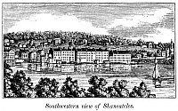 0082586 © Granger - Historical Picture ArchiveNEW YORK: SKANEATELES.   Skaneateles, New York. Wood engraving, 1841.