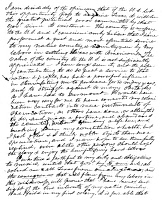 0016581 © Granger - Historical Picture ArchiveTEXAS: LETTER, 1836.   Letter to Andrew Jackson Donelson written by Stephen F. Austin at Columbia, Texas, 14 October 1836, in which Austin offers Texas to the United States.
