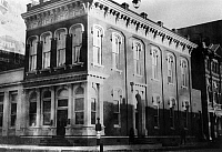 0216263 © Granger - Historical Picture ArchiveGALVESTON: BANK, c1910.   The First National Bank Building at the corner of 22nd Street and The Strand in Galveston, Texas. Photograph, c1910.