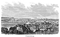 0322313 © Granger - Historical Picture ArchiveCIVIL WAR: FREDERICKSBURG.   View of the Battle of Fredericksburg, Virginia, 13 December 1862. Wood engraving, American, mid or late 19th century.