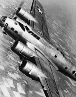 0099773 © Granger - Historical Picture ArchiveWORLD WAR II: B-17, 1944.   B-17 Flying Fortress. Photographed March 1942.