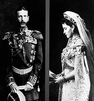 0350315 © Granger - Historical Picture ArchiveSERGEI & ELIZABETH.   Grand Duke Sergei Alexandrovich of Russia and his wife Grand Duchess Elizabeth Feodorovna of Russia. Photograph, c1884. Full credit: ITAR-TASS Photo Agency / Granger, NYC -- All rights reserved.