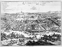 0036506 © Granger - Historical Picture ArchiveCITY OF LOANGO, 18th CENTURY.   The city of Loango, near the mouth of the Congo River on the west coast of Africa. Copper engraving, English, 18th century.