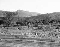 0124047 © Granger - Historical Picture ArchiveKENYA: ESCARPMENT.   A view of the Elgeyo Escarpment in the Rift Valley in Kenya. Photographed in 1936.
