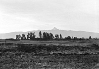 0124065 © Granger - Historical Picture ArchiveKENYA: MOUNT KENYA.   Landscape view in Kenya, with Mount Kenya seen in the distance. Photographed in 1936.