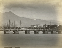 0350789 © Granger - Historical Picture ArchiveCHINA: FUZHOU, c1900.   Bridges in Fuzhou, China. Photograph, c1900.