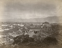 0351436 © Granger - Historical Picture ArchiveCHINA: FUZHOU, c1880.   The foreign settlement in Fuzhou, China. Photograph, c1880.