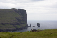 0620304 © Granger - Historical Picture ArchiveFAROE ISLANDS, 2015.  View of the landscape of the Faroe Islands. Photograph, 21 July 2015. Full Credit: ullstein bild - snapshot-photography / Seeliger / Granger, NYC. All Rights Reserved.