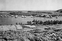 0018425 © Granger - Historical Picture ArchiveEGYPT: FELUCCAS ON THE NILE.