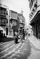 0120169 © Granger - Historical Picture ArchiveEGYPT: CAIRO.  A street scene in the city of Cairo, Egypt. Stereograph, early 20th century.