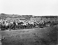 0120790 © Granger - Historical Picture ArchiveHEBRON.   A view of the city of Hebron, the largest city on the West Bank. Photographed by P. Bergheim, mid or late 19th century.