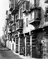 0120806 © Granger - Historical Picture ArchiveEGYPT: CAIRO.   A street in the city of Cairo, Egypt. Photograph, mid or late 19th century.
