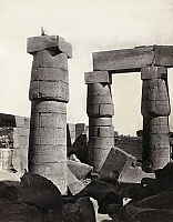 0129174 © Granger - Historical Picture ArchiveEGYPT: KARNAK RUINS.   Ruins of the great hall at Karnak, Egypt. Photograph by Francis Frith, c1860.