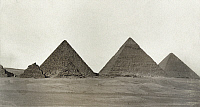 0129205 © Granger - Historical Picture ArchiveEGYPT: GREAT PYRAMIDS.   The Great Pyramids of Giza, Egypt. Photograph, late 19th century.