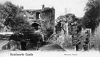 0094737 © Granger - Historical Picture ArchiveKENILWORTH CASTLE.   View of the Mervyn's Tower at the ruins of Kenilworth Castle, in Warwickshire, England. English postcard, c1905.