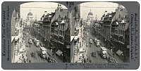 0322964 © Granger - Historical Picture ArchiveLONDON: FLEET STREET, c1915.   'Fleet Street, Center of English Journalism, East to St. Paul's, London, England.' Stereograph, c1915.