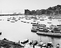 0129690 © Granger - Historical Picture ArchiveCANNES: PORT, 1948.   The port of Cannes, France. Photograph, 1948.