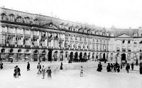 0620009 © Granger - Historical Picture ArchivePARIS: HOTEL RITZ, 1904.   Hotel Ritz, on Place Vendome in Paris. Photograph, 1904. Full Credit: AGIP - Rue des Archives / Tallandier / Granger, NYC.