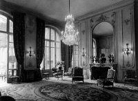 0620010 © Granger - Historical Picture ArchivePARIS: HOTEL RITZ, c1900.   A drawing room in the Hotel Ritz. Photograph, c1900.  Full Credit: AGIP - Rue des Archives / Tallandier / Granger, NYC.