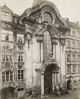 0350868 © Granger - Historical Picture ArchiveMUNICH: ASAM CHURCH.   Asamkirche, also known as St. Johann Nepomuk and the Asam Church, in Munich, Germany. Photograph, c1900.