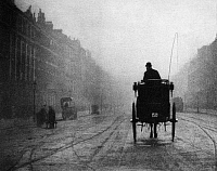 0116298 © Granger - Historical Picture ArchiveLONDON: FOG, c1905.   'Portland Place.' Photograph by Alvin Langdon Coburn, c1905.
