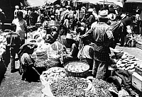 0114572 © Granger - Historical Picture ArchiveGUATEMALA: MARKET, 1977.   An outdoor market in Solola, Guatemala. Photographed in 1977.