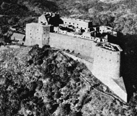 0353154 © Granger - Historical Picture ArchiveHAITI: CITADELLE, c1963.   The Citadelle Laferrière, built by Henry Christophe, in Haiti in the early 19th century. Photograph, c1963.