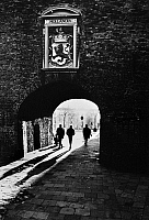 0124178 © Granger - Historical Picture ArchiveTHE HAGUE: GEVANGENPOORT.   Prisoners' Gate, 14th century, in The Hague, the Netherlands. Photograph, c1980.