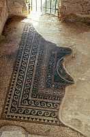 0024155 © Granger - Historical Picture ArchiveHOLY LAND: MASADA.   Mosaic floor in King Herod the Great's Western Palace.