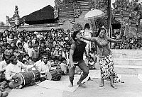 0125735 © Granger - Historical Picture ArchiveINDONESIA: BIRTH CONTROL.   A Balinese song and dance drama illustrates the theme of family planning to young people in a village on Bali, 1972.