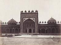 0072191 © Granger - Historical Picture ArchiveINDIA: DARGAH MOSQUE.   Built by the Mughal emperor Akbar at Fatehpur Sikri. Photograph, c1890.