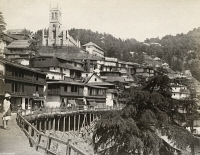 0350764 © Granger - Historical Picture ArchiveINDIA: SHIMLA.   A view of Shimla, India. Photograph by Francis Frith, c1860.