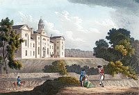 0622844 © Granger - Historical Picture ArchiveDUBLIN: ROYAL INFIRMARY.   The Royal Infirmary at Phoenix Park in Dublin, Ireland. Print by James Malton, 1794.