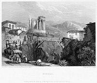 0033703 © Granger - Historical Picture ArchiveITALY: TIVOLI, 1832.   Steel engraving, English, 1832.