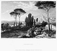 0033705 © Granger - Historical Picture ArchiveITALY: FRASCATI, 1832.   Steel engraving, English, 1832.