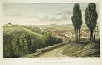 0047261 © Granger - Historical Picture ArchiveFLORENCE, ITALY, 1818.   South east view of Florence, Italy: steel engraving, English, 1818.
